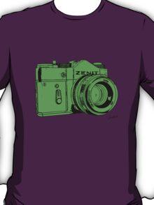 Green Russian Camera T-Shirt