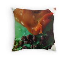 Minted Caramel Apple Throw Pillow