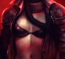 Red Apocalypse Sticker