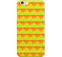 Yellow-Orange Grid Fade iPhone Case/Skin