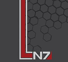 N7 (textured) by trilac