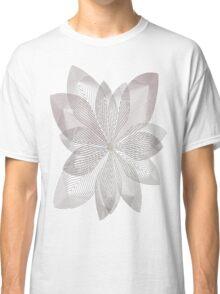 Ripple Flowers  Classic T-Shirt