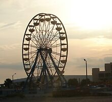 Ferris Wheel on the Boardwalk by PicsbyJody