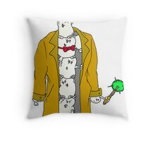 Adipose Doctor Throw Pillow