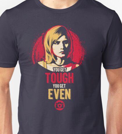 Get Tough, Get Even  Unisex T-Shirt