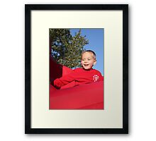 Slidin.... Framed Print