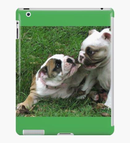 Aggy and Pickles iPad Case/Skin