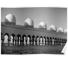 Sheikh Zayed Mosque - Abu Dhabi Poster