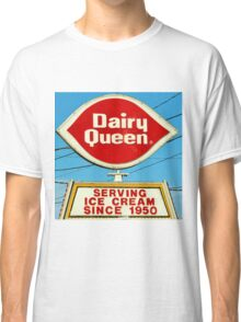 Diary Queen Sign Classic T-Shirt