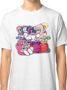 The Sailor Ponies Unite! Classic T-Shirt