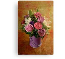 Flowers From A Friend Canvas Print