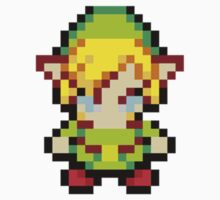 Pixel Link Sprite by Flaaffy
