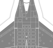 General Dynamics F-16 Falcon Sticker