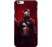 Red Apocalypse iPhone Case/Skin