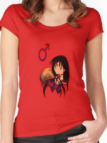 Sailor Mars 2.0 Women's Fitted Scoop T-Shirt