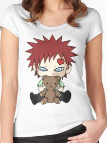 Chibi Love Boy Women's Fitted Scoop T-Shirt