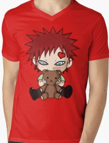 Chibi Love Boy Mens V-Neck T-Shirt
