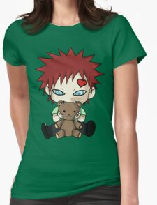 Chibi Love Boy Womens Fitted T-Shirt