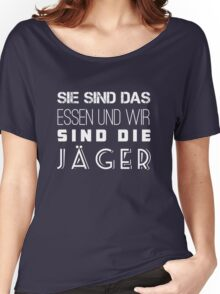 hdjbhejnebehjwh JAGER Women's Relaxed Fit T-Shirt