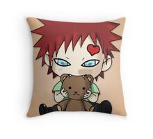 Chibi Love Boy Throw Pillow
