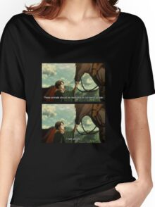 levi spaghetti and his neigh neigh friend Women's Relaxed Fit T-Shirt