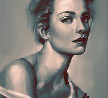 Model Portrait by liliumion