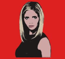 Pop Art Buffy by Jonathon Measday