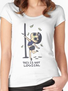 There is No Money in the Future Women's Fitted Scoop T-Shirt