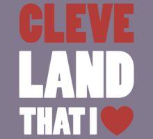 Cleveland - Land That I Love Kids Tee