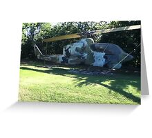 Bell AH-1J Helicopter Greeting Card