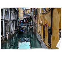 Venice the City of Love Poster
