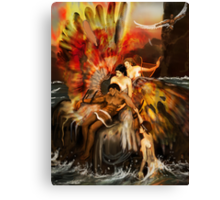 THE FALL OF ICARUS ! Canvas Print