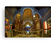 Berlin, Kaiser Wilhelm Memorial Church Canvas Print