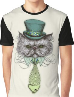 Not Your Average Cat Graphic T-Shirt