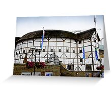 The Globe Theatre, London Greeting Card