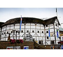 The Globe Theatre, London Photographic Print