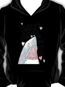 """You're Reel-y Cute"" 2013 Shark Week  T-Shirt"