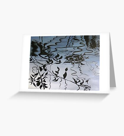 Forest Reflections 3 Greeting Card