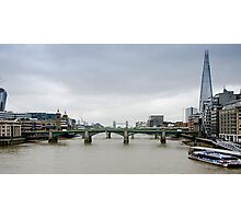 View over the Thames Photographic Print