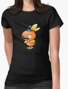 Like a Sir (Torchic) Womens Fitted T-Shirt
