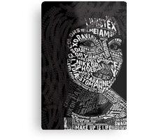 Lydia Metal Print