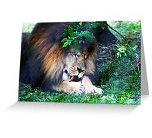 The King and I Greeting Card