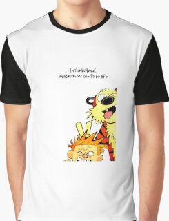 calvin and hobbes christmas Graphic T-Shirt