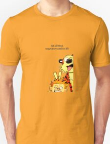 calvin and hobbes christmas T-Shirt