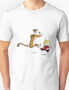 Calvin And Hobbes runner T-Shirt