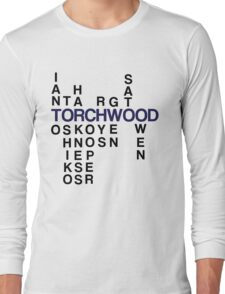 Torchwood Team Wordplay - Series 2 Long Sleeve T-Shirt