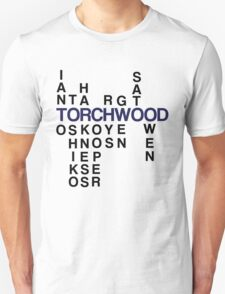 Torchwood Team Wordplay - Series 2 T-Shirt