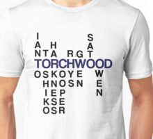 Torchwood Team Wordplay - Series 2 Unisex T-Shirt