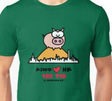 KINO loves Hong Kong - The Pig on the Peak Unisex T-Shirt