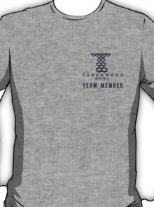 Torchwood Team Member Badge T-Shirt
